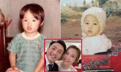 Hé lộ hình ảnh hiếm hoi ngày nhỏ của Cường Đô la và vợ Đàm Thu Trang