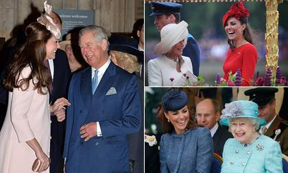 """Lý do mẹ chồng kế ghét và muốn """"bôi nhọ"""" nàng dâu Kate Middleton hóa ra đến từ 15 bức ảnh này"""