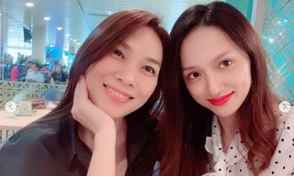 Chụp ảnh cùng Mỹ Tâm, Hoa hậu Hương Giang công khai xưng hô fangirl
