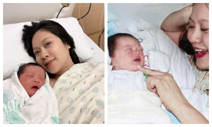 Canh vợ ở bệnh viện, Đức Thịnh gây hoang mang khi đố khán giả phân biệt hai con lúc mới sinh hộ mình