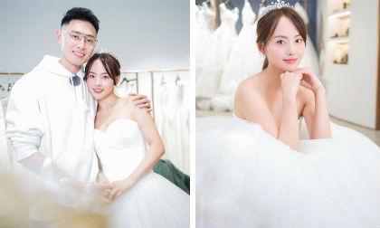 """Mỹ nhân đẹp nhất """"Diên Hi công lược"""" lần đầu khoác áo cô dâu, tiết lộ chồng vẫn """"nợ"""" 1 đám cưới"""