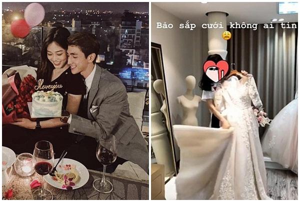 Diễn viên Bình An từng đưa Phương Nga đi thử váy và bảo sắp cưới nhưng không ai tin