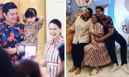 """""""Mỹ nhân đẹp nhất Philippines"""" được nhà chồng bất ngờ tổ chức tiệc mừng quý tử sắp chào đời"""