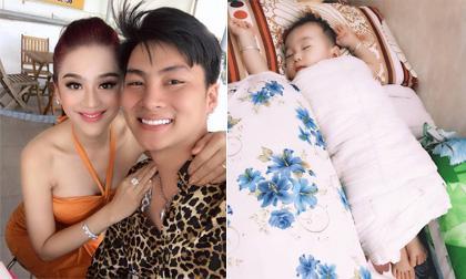 Lấy tinh trùng mình và trứng chị dâu để nhờ mang thai hộ, con trai của Lâm Khánh Chi vẫn được một loạt nhận xét giống bố