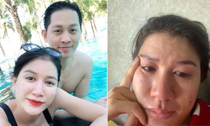 """Ngày sinh nhật được chồng tặng hẳn cọc tiền USD, Trang Trần lại bật khóc vì… """"ức"""""""