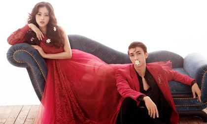 Á hậu Phương Nga lên tiếng về tin đồn chụp ảnh cưới với bạn trai Bình An