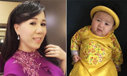 Lộ ảnh hiếm hoi về con gái mới sinh của ca sĩ Mai Thiên Vân