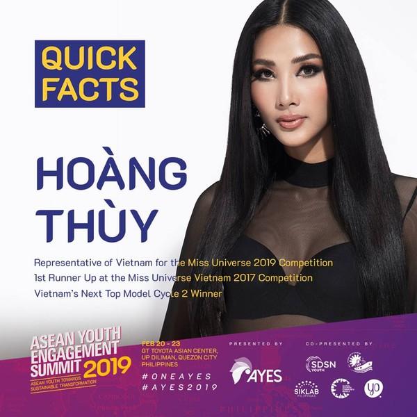 Á hậu Hoàng Thùy chính thức xác nhận dự thi Miss Universe 2019