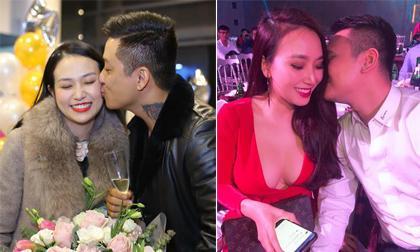 Tuấn Hưng đăng ảnh hôn vợ nhưng người chiếm spotlight lại là bà xã Khắc Việt
