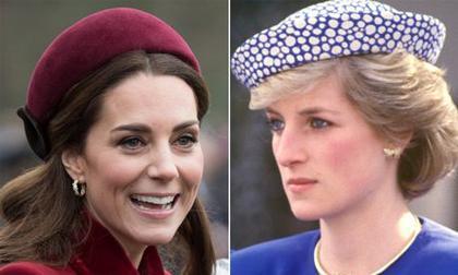 """Dù chưa nổi tiếng bằng mẹ chồng nhưng thứ Kate đang sở hữu khiến Công nương Diana có """"đội mồ sống dậy"""" cũng vô cùng khao khát"""