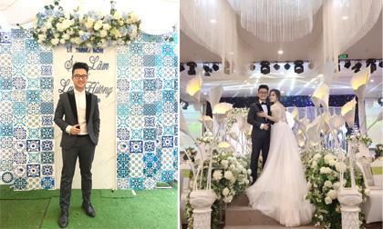 """MC """"Chuyển động 24h"""" Dương Sơn Lâm hạnh phúc trong đám cưới với cô dâu Lan Hương"""