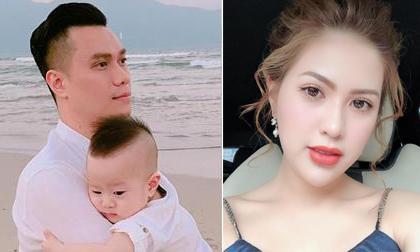 Giữa nghi án trục trặc, Việt Anh và bà xã đều đăng ảnh chúc mừng sinh nhật con trai nhưng lại không chụp chung