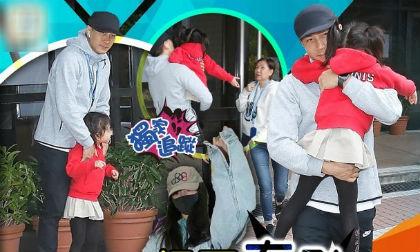 Bị hỏi chuyện Dương Mịch về thăm con, Lưu Khải Uy ôm chặt công chúa nhỏ, nói đúng 1 câu