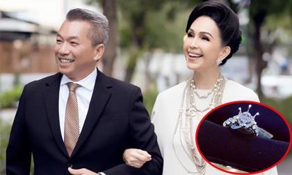 """""""Nữ hoàng ảnh lịch"""" Diễm My được chồng tặng nhẫn kim cương 5 tỷ nhân kỷ niệm ngày cưới"""